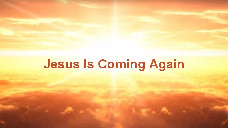 jesus is coming again � barrowvalley community church
